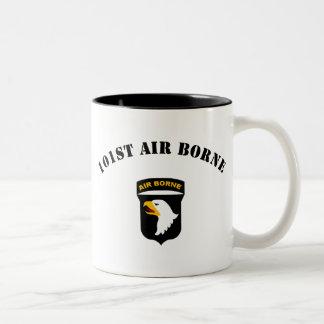 101st Airborne Insignia Two-Tone Mug
