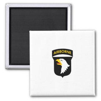 101st Airborne Square Magnet