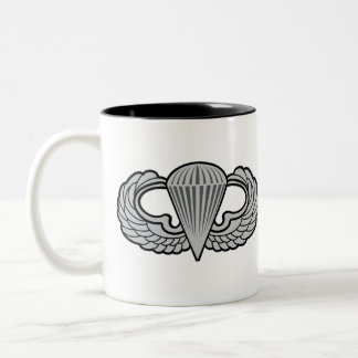 101st Airborne Patch with Jump Wings Two-Tone Mug