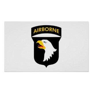 101st Airborne Poster