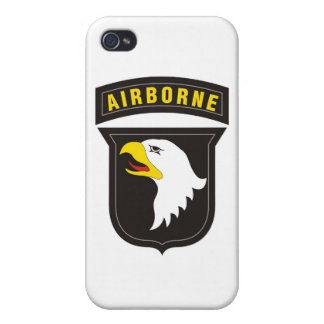 101st Airborne Screaming Eagle Emblem iPhone 4 Cover