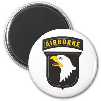 101st Airborne Screaming Eagle Emblem Fridge Magnets