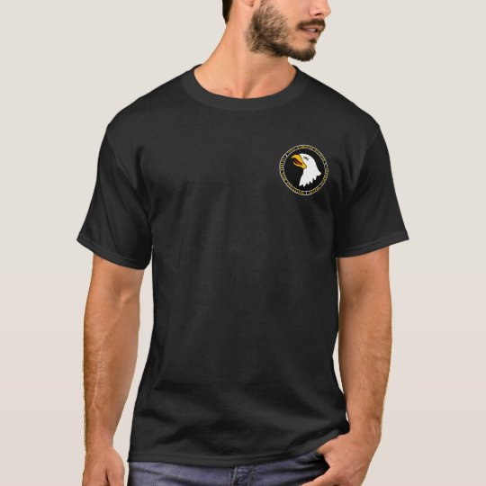 101st Airborne Screaming Eagles Seal Shirt