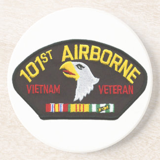 101st Airborne Vietnam Veteran Drink Coasters