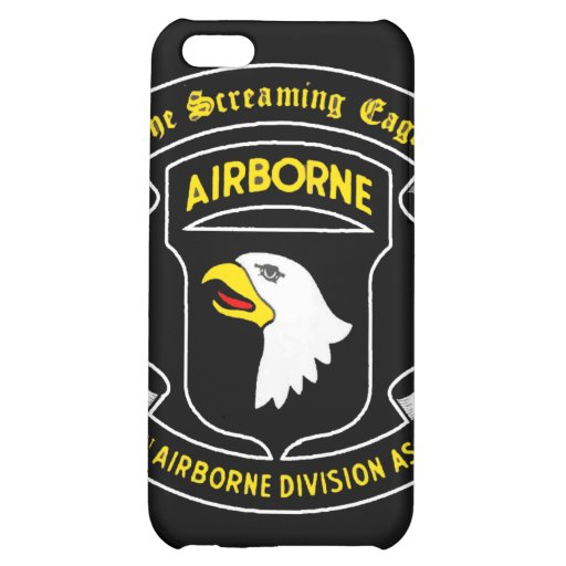 101st Army Airborne Screaming Eagle Patch iPhone 5C Case