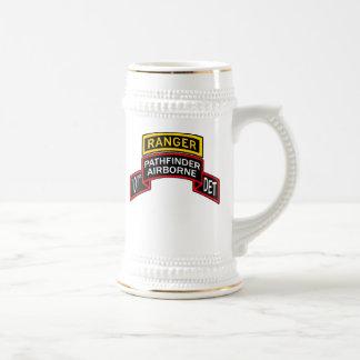 101st Pathfinder Stein with Ranger Tab Beer Steins