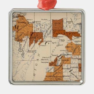 102 Consumption Michigan Christmas Ornament