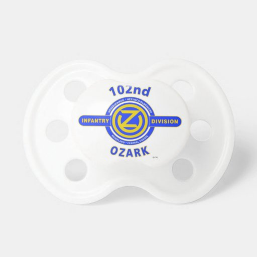 """102ND INFANTRY DIVISION """"OZARK DIVISION"""" PACIFIER"""