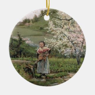 103-0066598/2 Spring Christmas Ornament