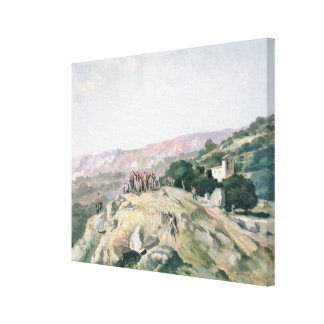 103-007950 The Highest Point, Catalonia Canvas Print
