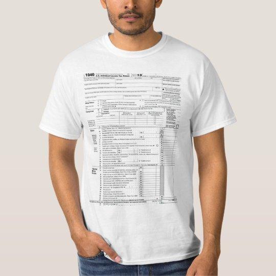 1040 Tax Form T-Shirt