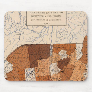 105 Diphtheria, croup NY, NJ, New England Mouse Mat