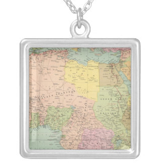10708 Africa policy Silver Plated Necklace
