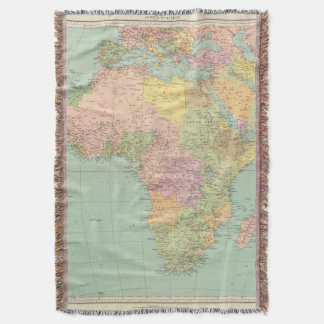 10708 Africa policy Throw Blanket