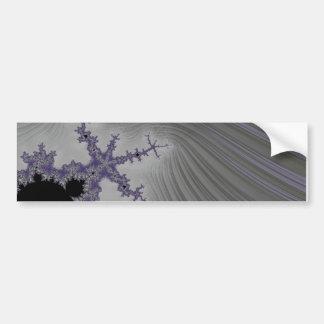 108-02 black mandy in a gray sky bumper sticker