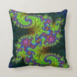108-29 yellow & purple dragon pillow