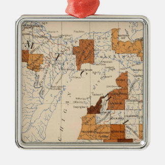 108 Influenza Michigan Christmas Ornament