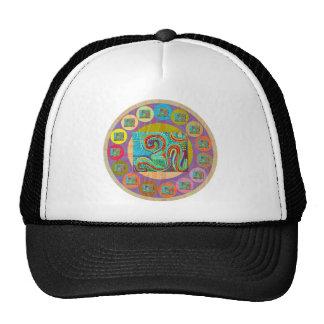 108 OM MANTRA HAT
