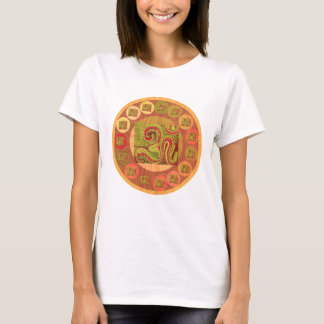 108 OM MANTRA Goodluck Peace Symbol T-Shirt