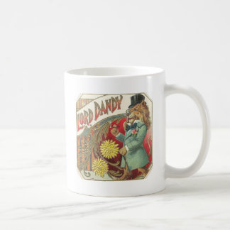 108lion basic white mug