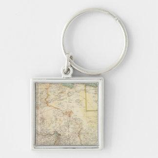 10911 North Africa Key Ring