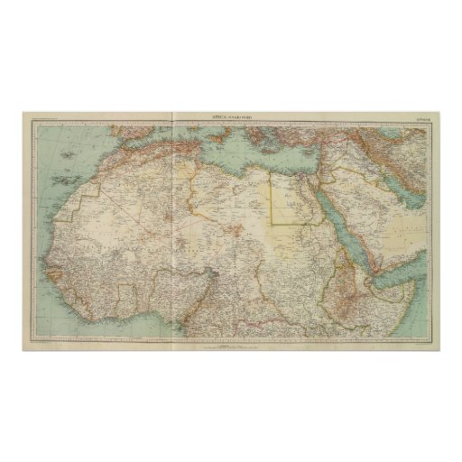 10911 North Africa Print
