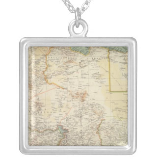 10911 North Africa Square Pendant Necklace