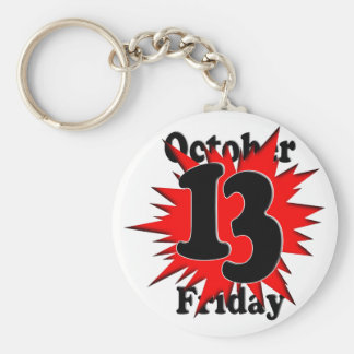10-13 Friday the 13th Key Chain