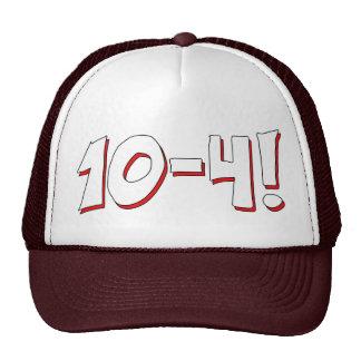 10-4 hat