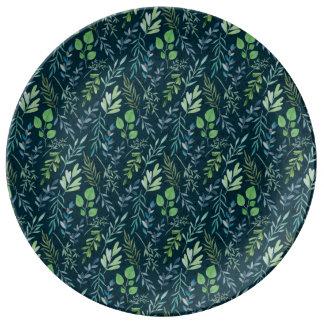 """10.75"""" Decorative Porcelain Plate"""