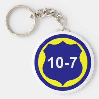 10-7 Key Chain
