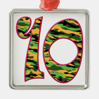 10 Age Camo Christmas Ornament