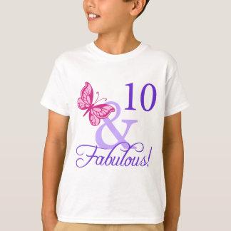 10 And Fabulous Birthday T-Shirt