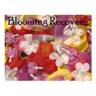 10 Blooming Recovery Postcard