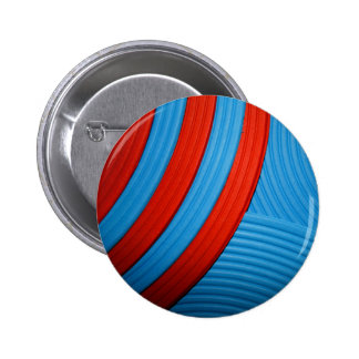 10 Blue & Red Abstract Sunshine Button