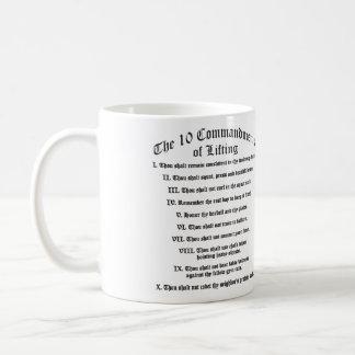 10 Commandments of Lifting Mug