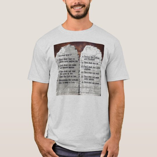 10 Commandment's T/shirt T-Shirt