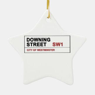 10 Downing Street London England Ceramic Star Decoration