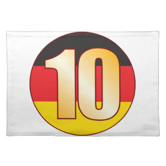 10 GERMANY Gold Placemat