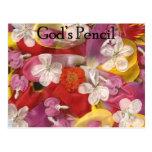 10 Gods Pencil Post Card