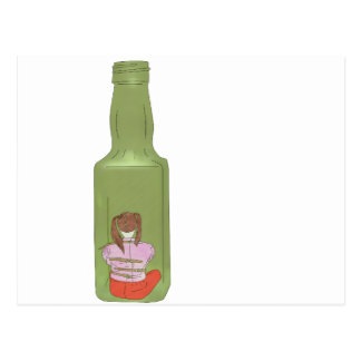 10 green bottles 10 postcard