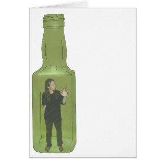 10 green bottles 1 card