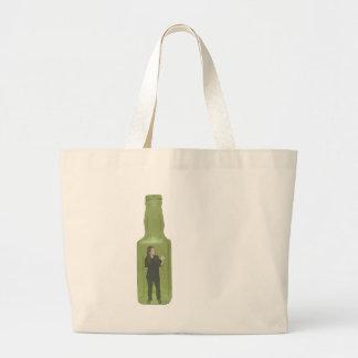 10 green bottles 1 jumbo tote bag
