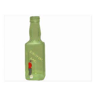 10 green bottles 2 postcard