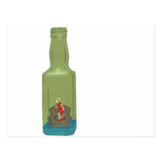 10 green bottles 6 postcard