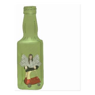 10 green bottles 7 postcard
