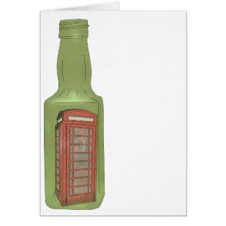 10 green bottles 8 greeting card