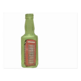 10 green bottles 8 postcard