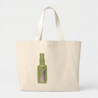 10 green bottles 9 jumbo tote bag
