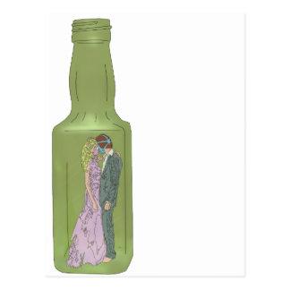 10 green bottles 9 postcard